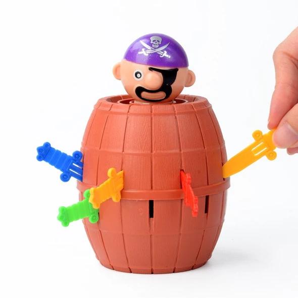 Kids Funny Gadget Pirate Barrel Game Toys