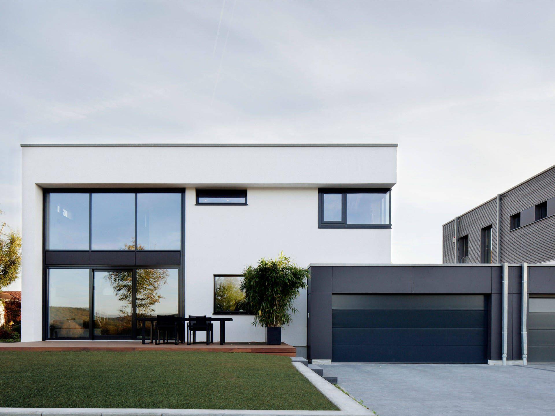 doppelhaus nilles in 2019 zweifamilienhaus haus haus bauen und cube haus. Black Bedroom Furniture Sets. Home Design Ideas