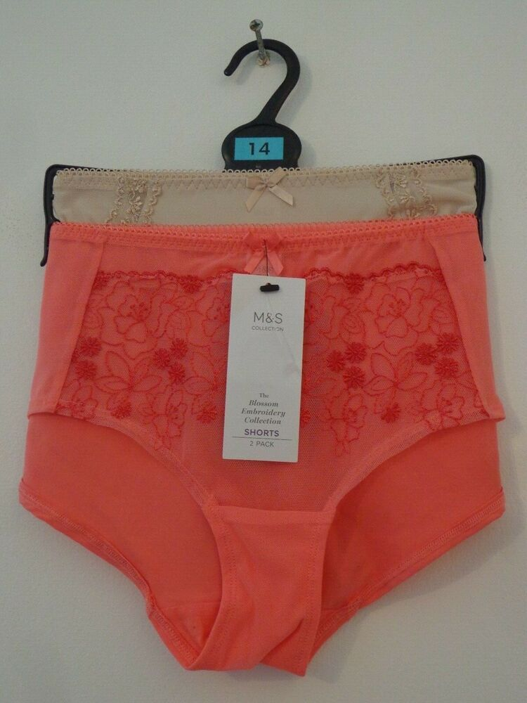 BNWT LADIES M/&S LINGERIE SHAPING RANGE WHITE LACE THONG SIZE 12