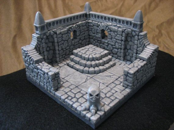 Tiny Dungeons Altar Trap Room modular dungeon by