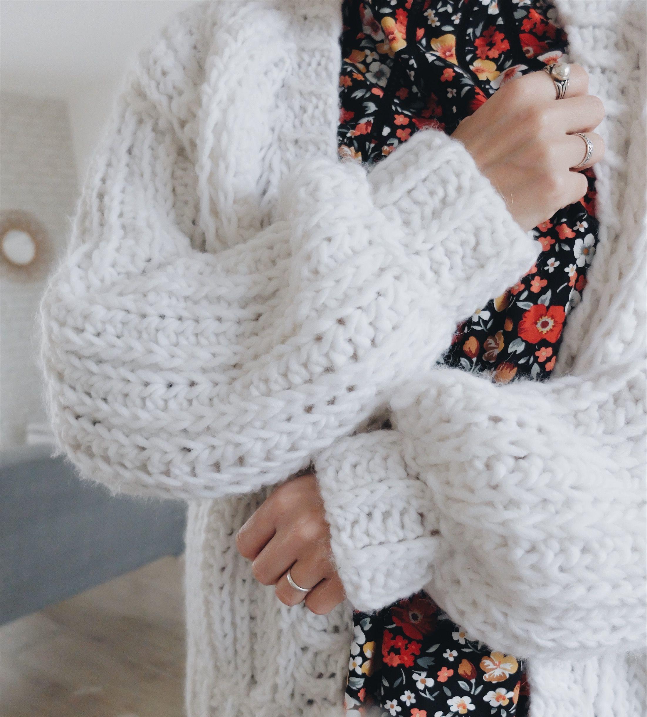 Tuto : le gilet au crochet à grosses mailles comme au tricot - Zess.fr // Lifestyle . mode . déco . maman . DIY