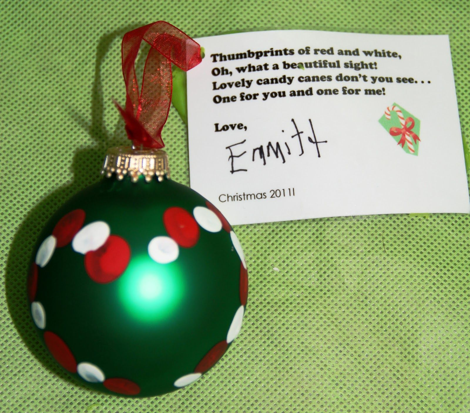 Homemade Christmas Gift Ideas Perfect PreK Parent Gift