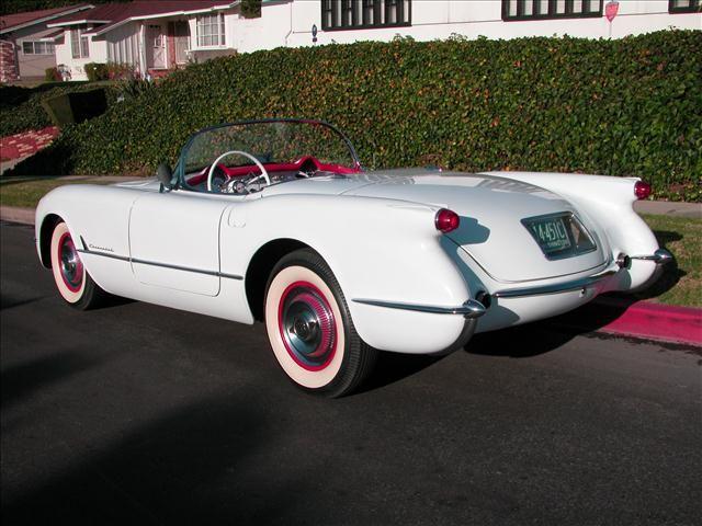 Chevrolet 1954 Corvette Corvette Chevrolet Corvette Vintage Sports Cars