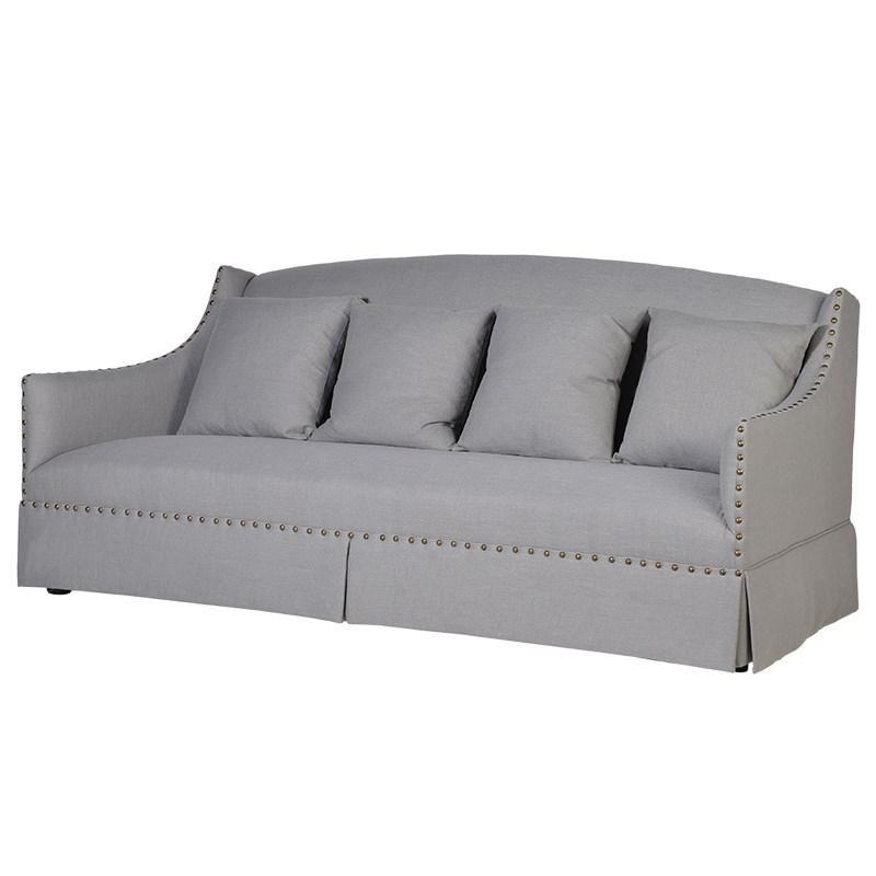 Rebuchet Three Seater Sofa Sofa Three Seater Sofa Grey 3