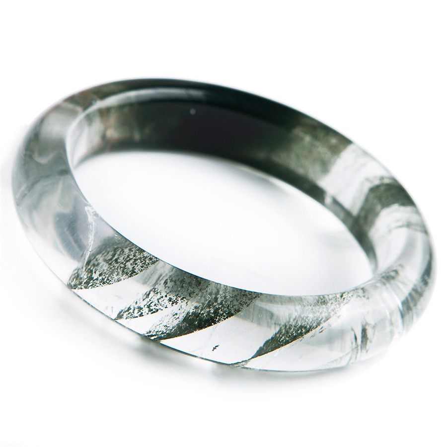 new arrival natural green phantom quartz bangles bracelets for