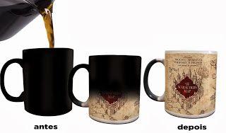 Meu faz de conta: Canecas: Harry Potter e The Walking Dead