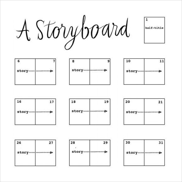 storyboard template - 15+ download free documents in pdf , word, Modern powerpoint