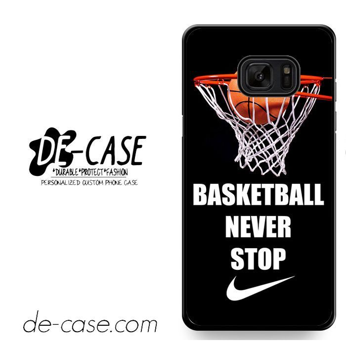 Basketball Never Stop Nike DEAL-1359 Samsung Phonecase Cover For Samsung Galaxy Note 7