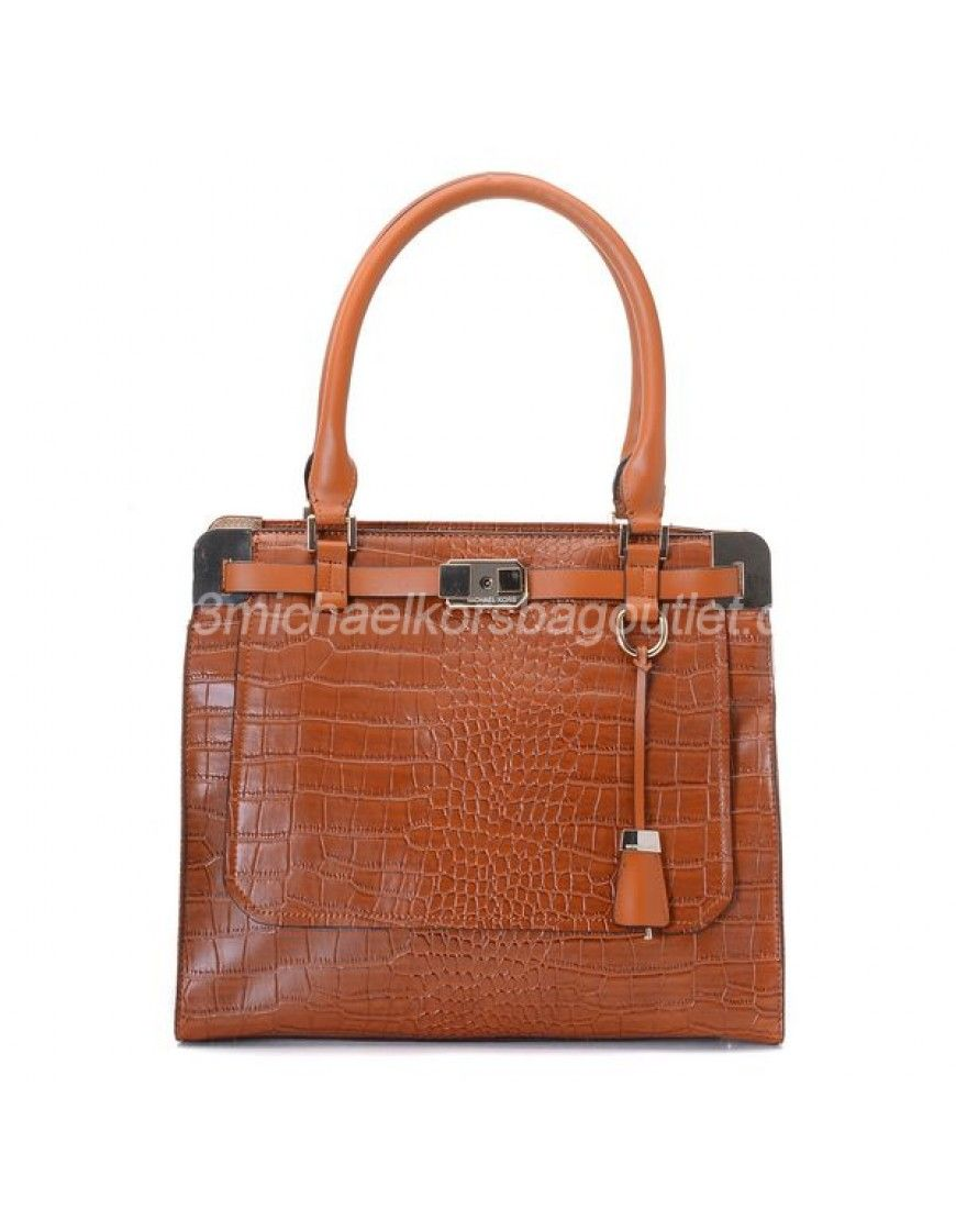michael kors bags blake crocodile embossed satchel luggage cheap rh pinterest com