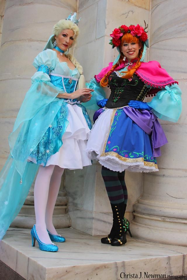Lolita Frozen Sisters by AngelSamui kos Pinterest Awesome - sisters halloween costume ideas