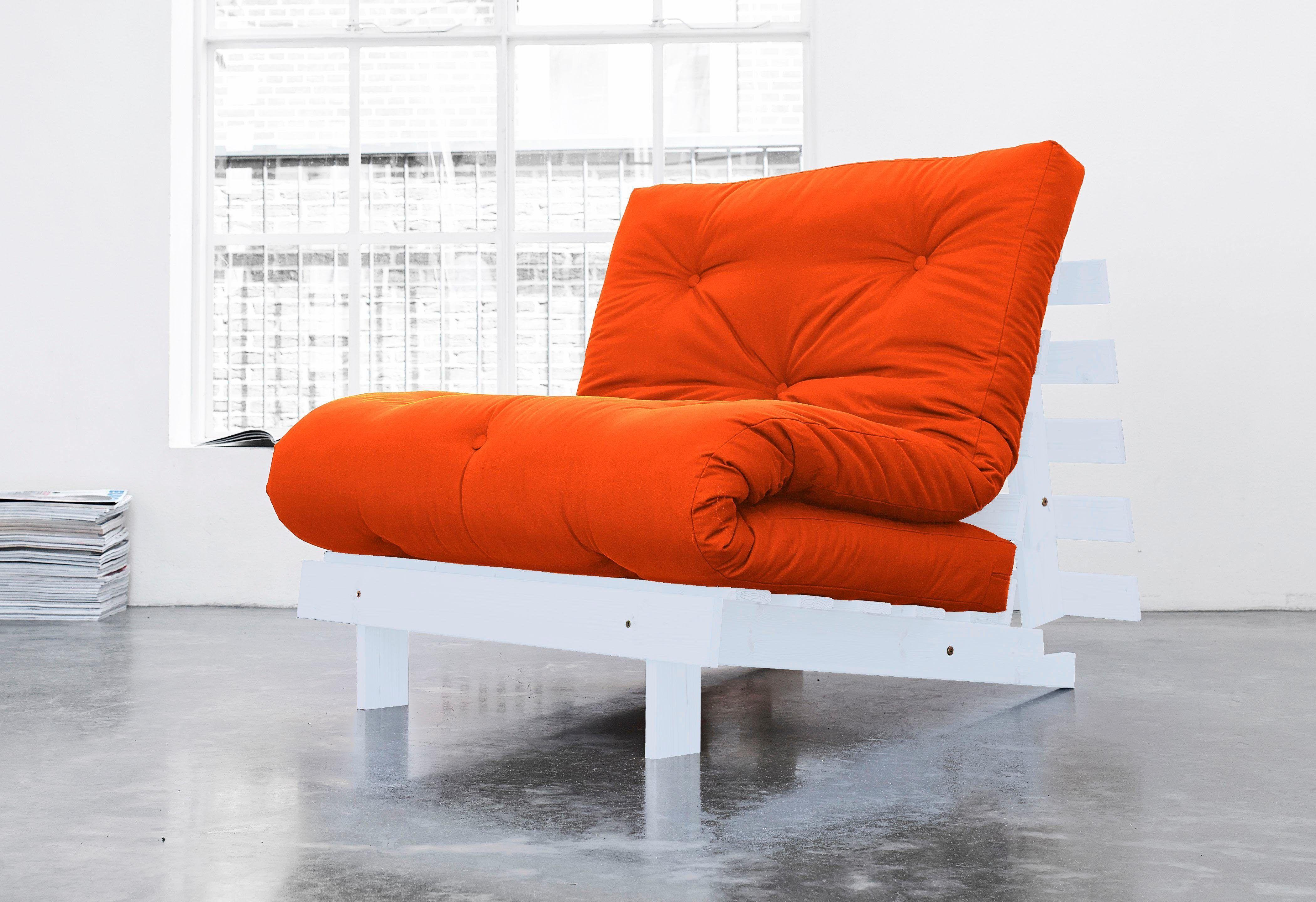 KARUP Schlafcouch orange, Liegefläche: 90x200 cm, Liegefläche ...