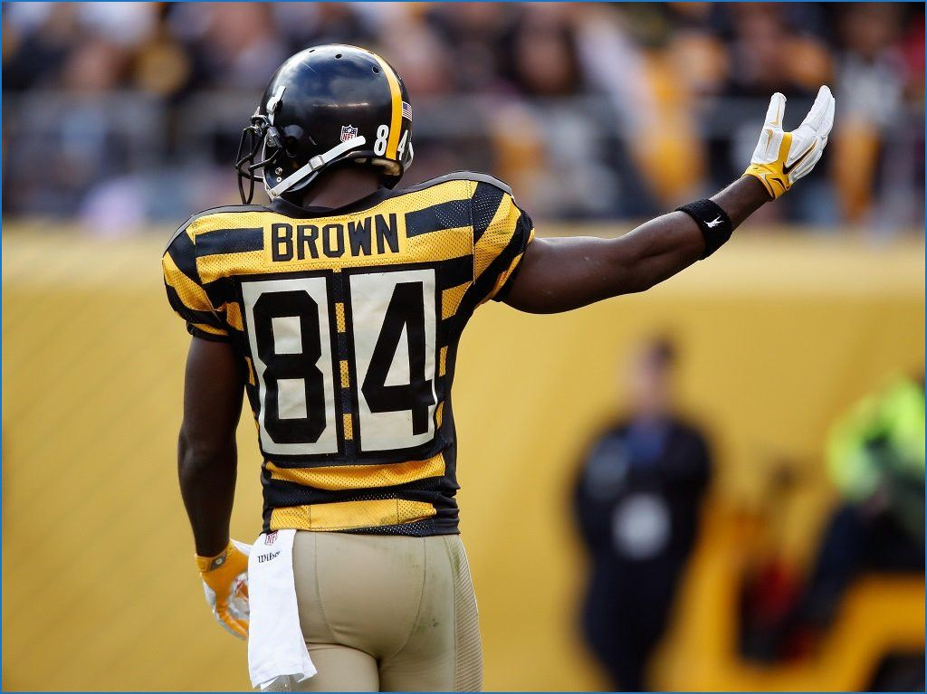 The Best Steelers Bumblebee Jersey History Jersey