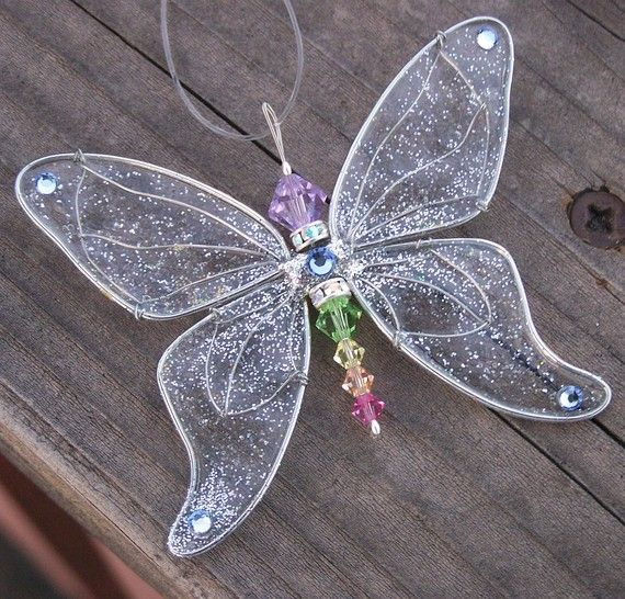 Suncatcher Butterfly Birthstones & 28 More por windyscreations