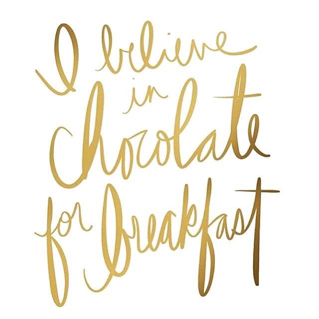 chocolate for breakfast | BREAKFAST AT MISS MILLIONAIRESS\'S ...
