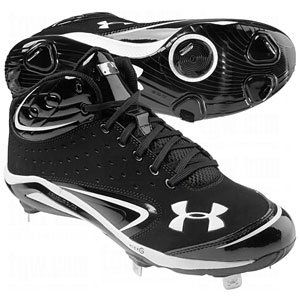 Men\u0027s Under Armour Yard III Mid-Cut Metal Baseball Cleats