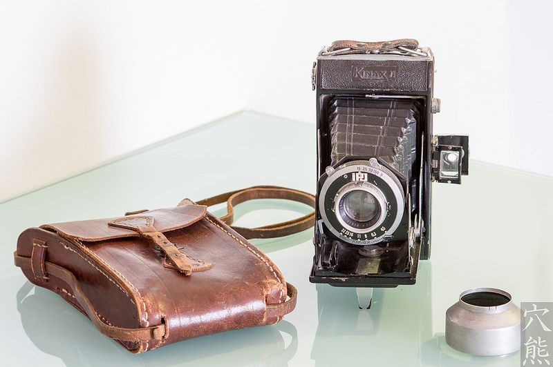 Kinax II  • 6x9 folding camera, 1946-1950.
