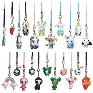 Toys & Hobbies Animals & Dinosaurs Tokidoki Frenzies Milk Figurine Keychain Charm Phonezies Toy