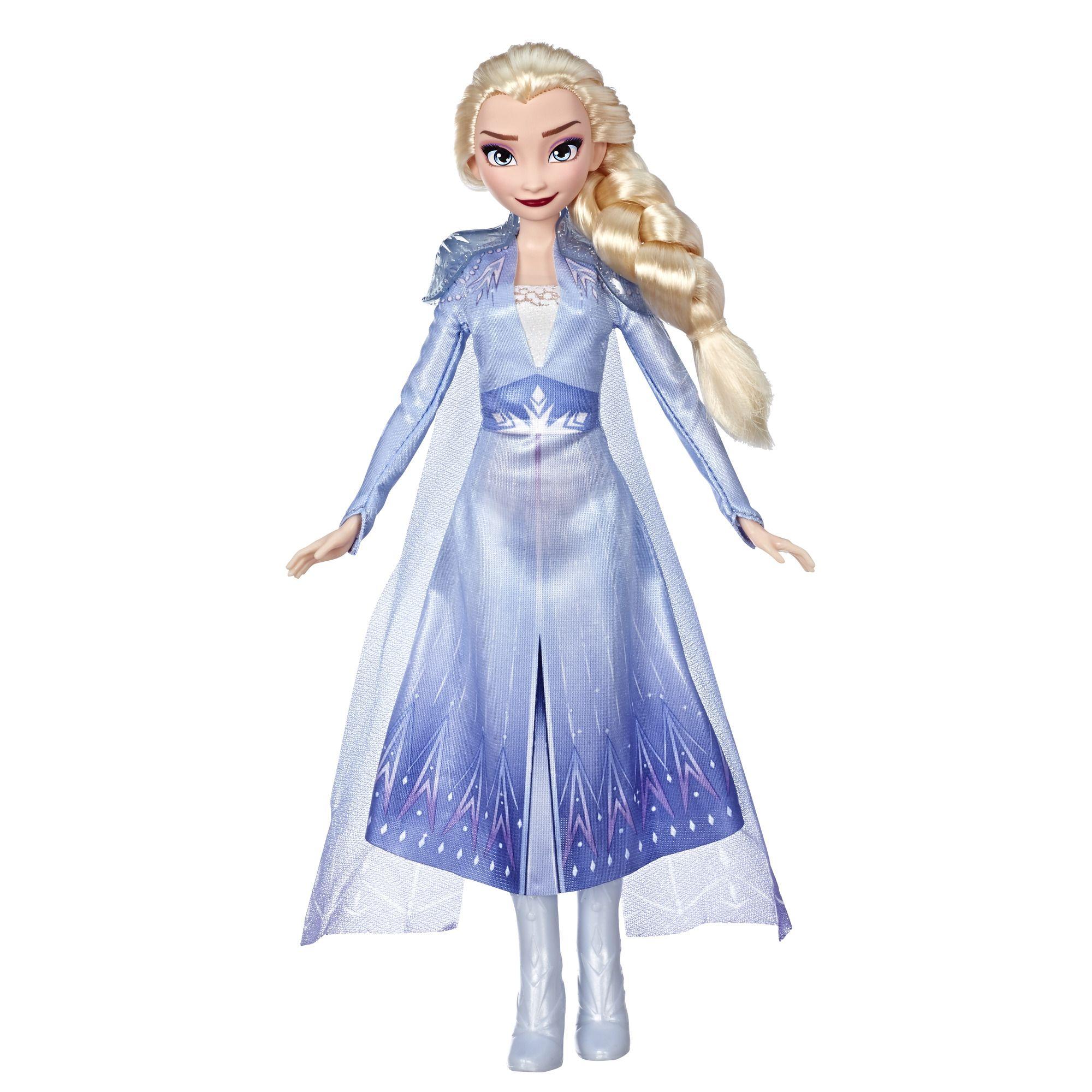 Disney Frozen 2 Elsa Fashion Doll With Long Blonde Hair Blue Outfit Walmart Com Disney Frozen Toys Elsa Doll Frozen Toys
