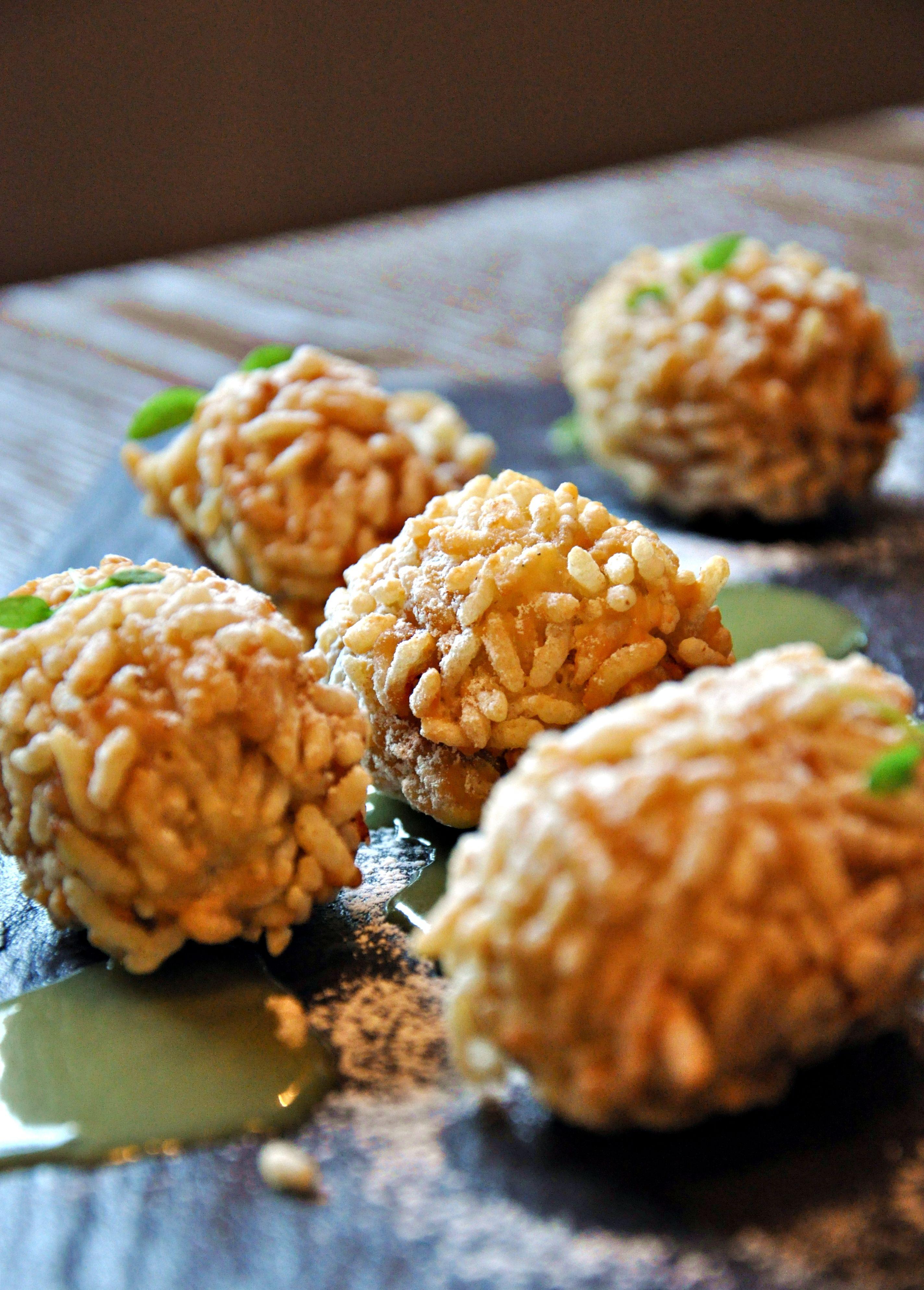 Rice Ball | Food, Rice balls, Desserts