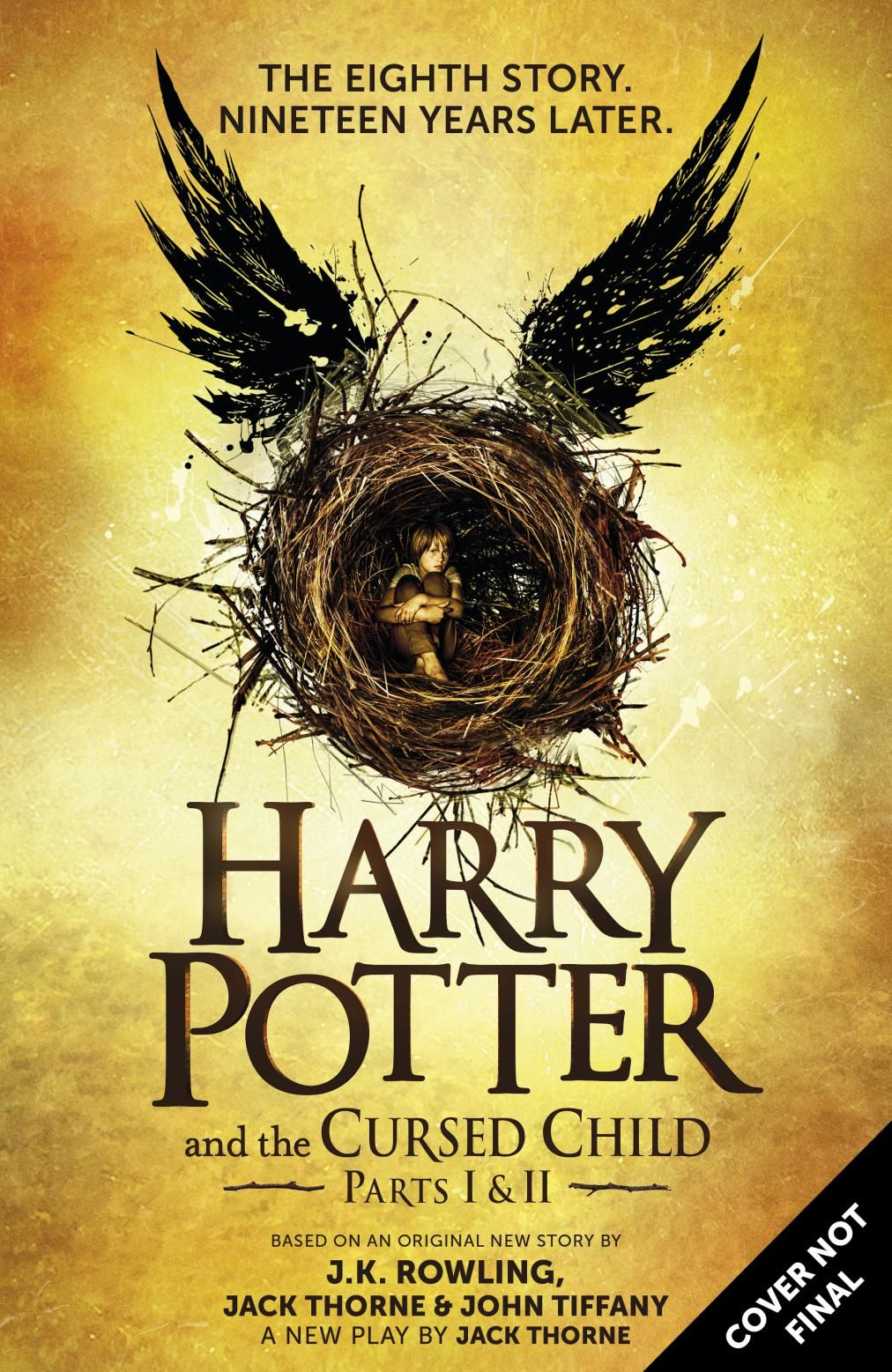 Harry Potter And The Cursed Child To Be Published As border=