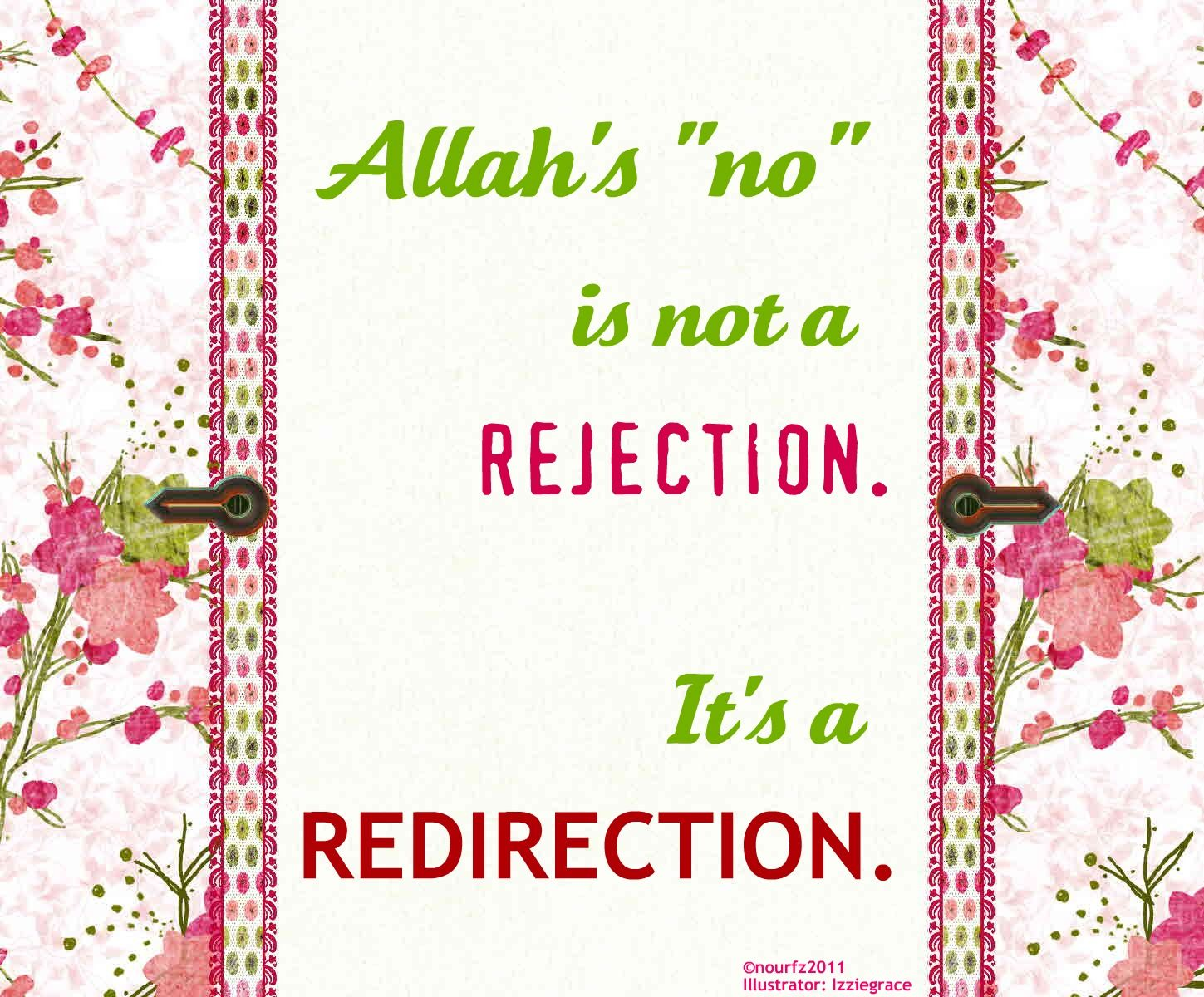 inspirational islamic quote sometimes allah has other