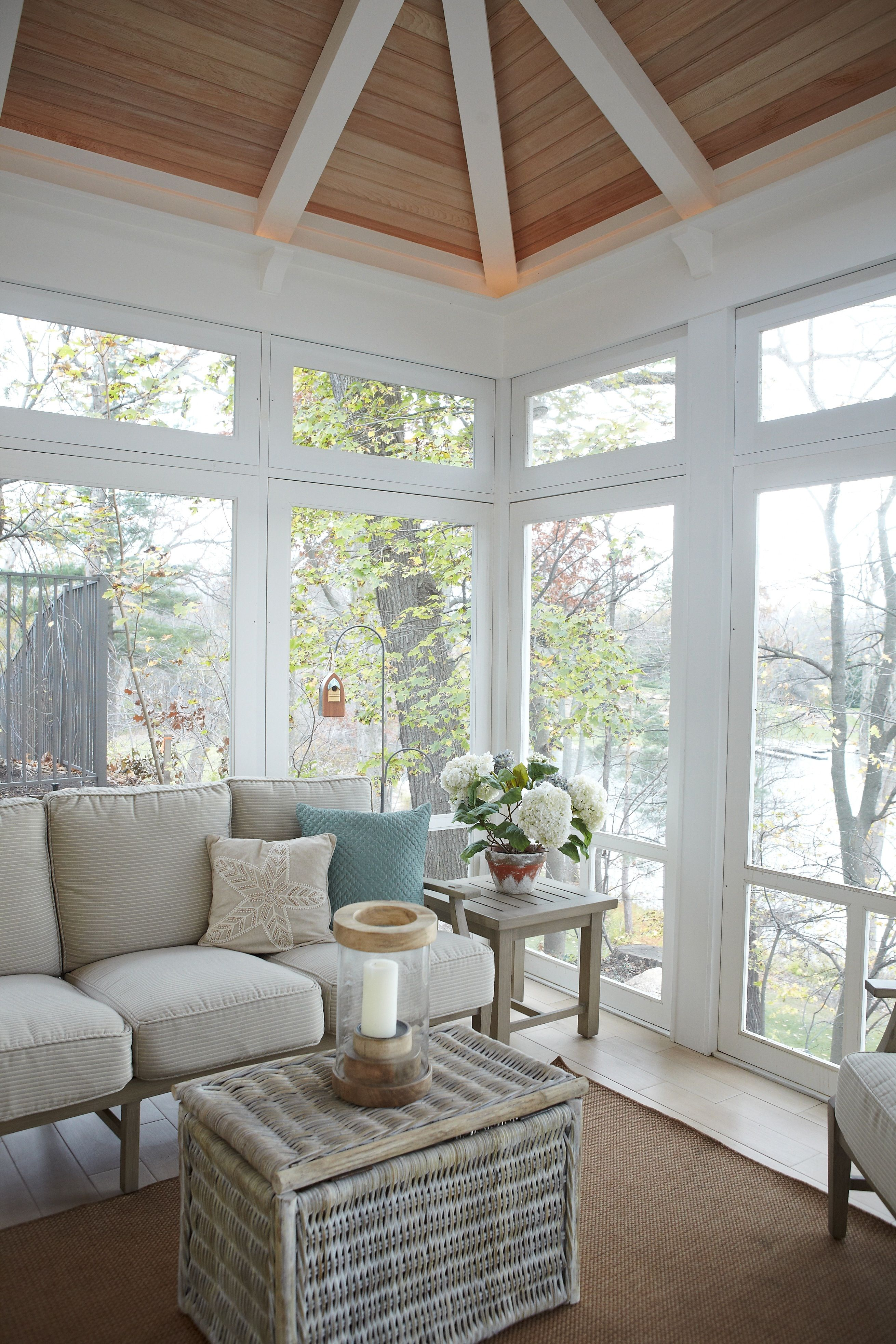 Home Additions Sunroom Decorating Four Seasons Room: Sears Architects, Fisk Lake, East Grand Rapids, Cottage-style Architecture, Four Seasons Room
