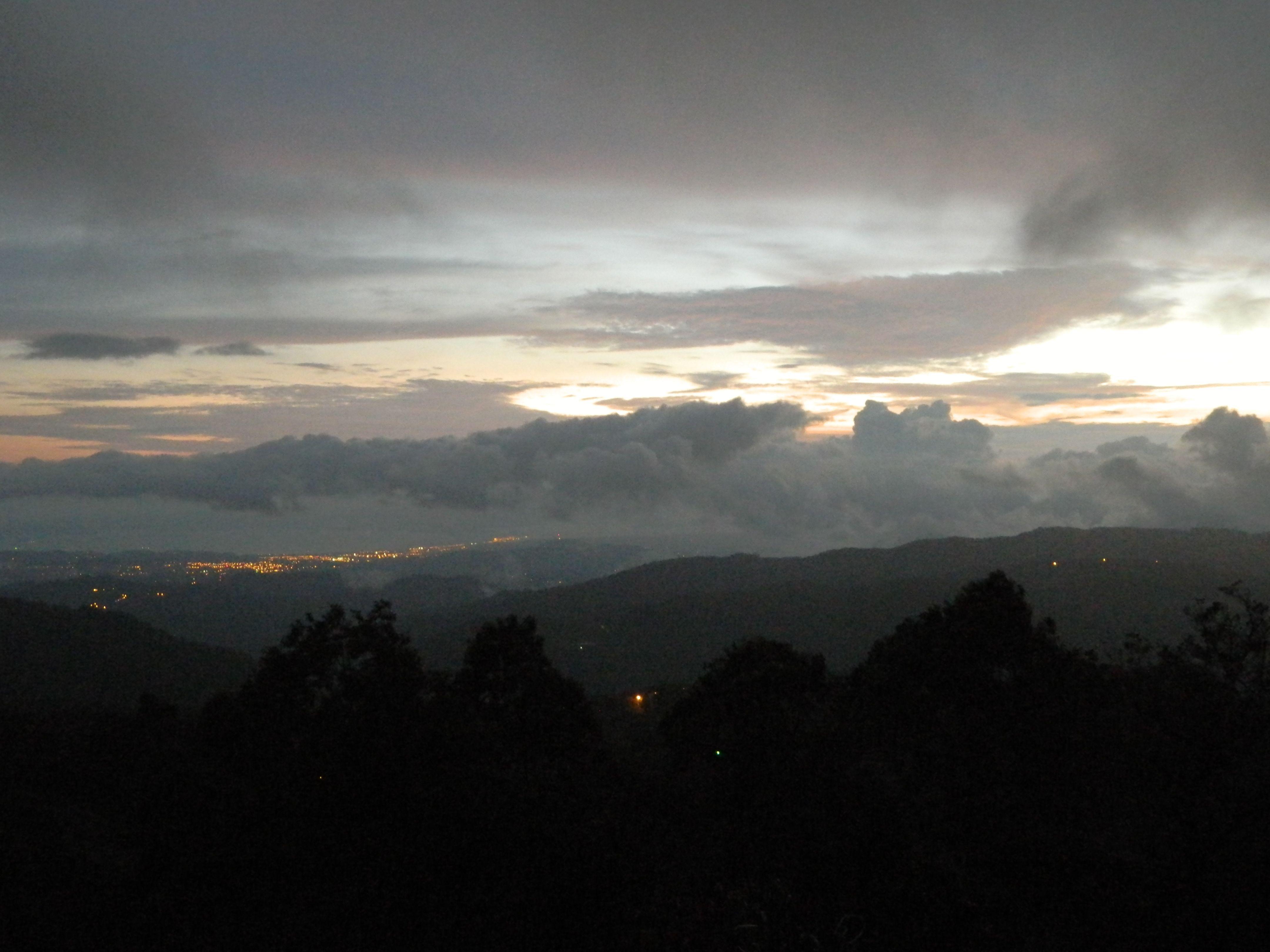 Costa Rica - sunset over Puntarenas