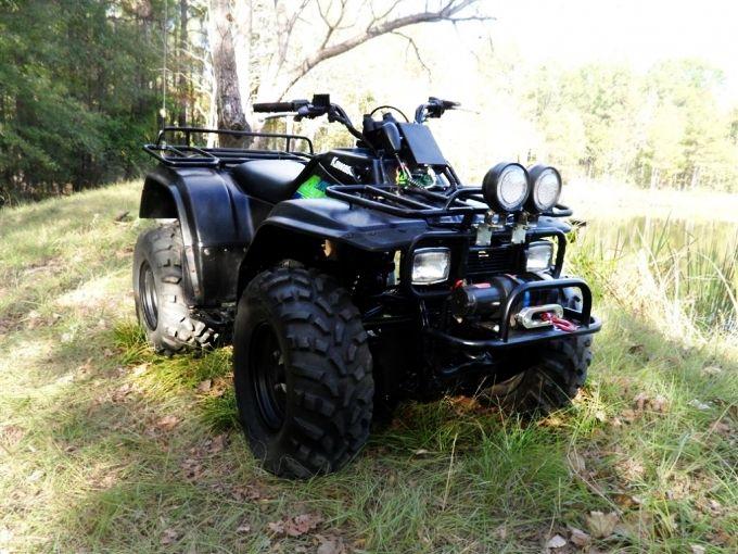Kawasaki Bayou 300 4X4 - | Motorsiklet | Pinterest | 4x4 and Atv