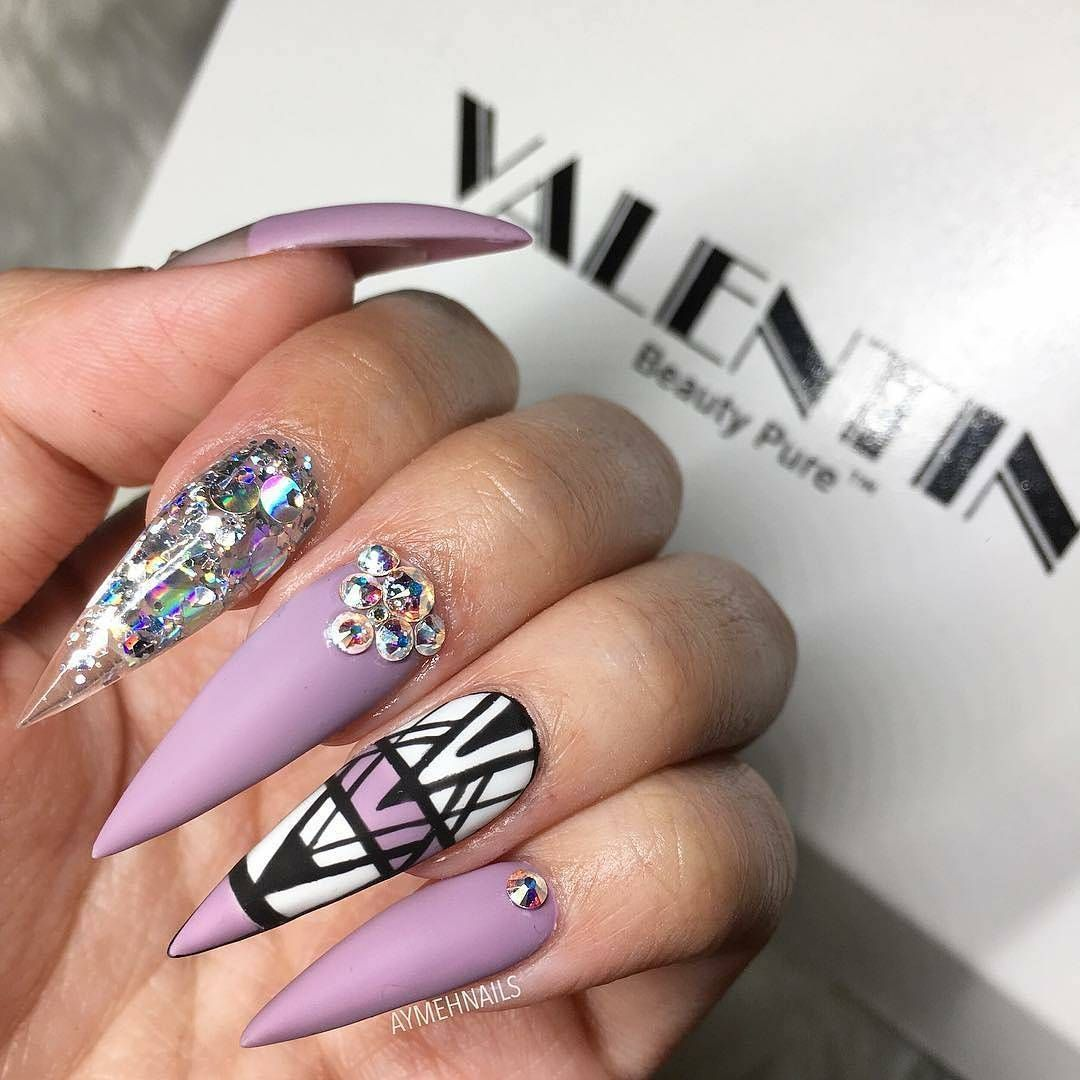 Pin by Amber Debourguignon on nails | Pinterest | Fabulous nails