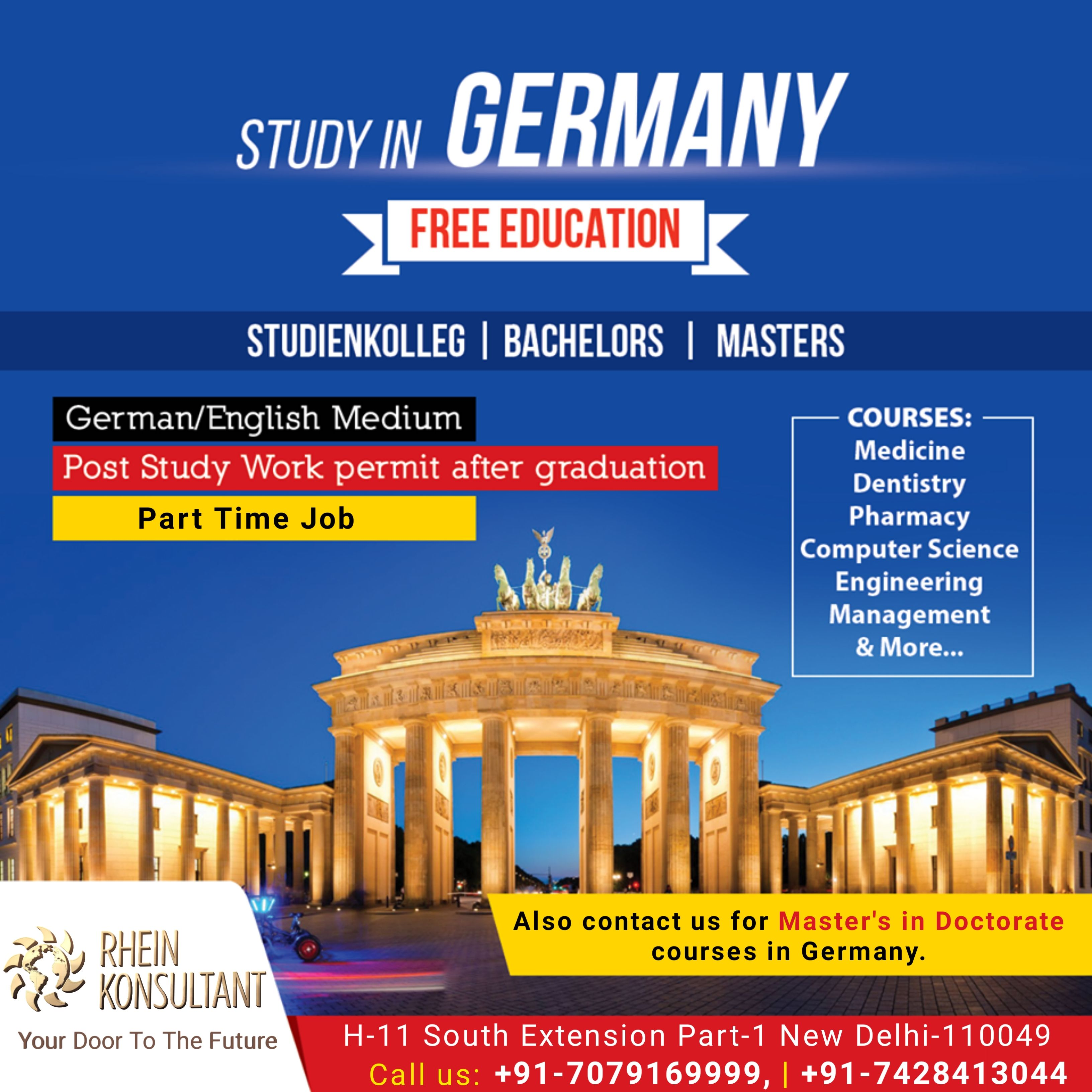 Germany offers FREE education 🔥 TopRanked Universities