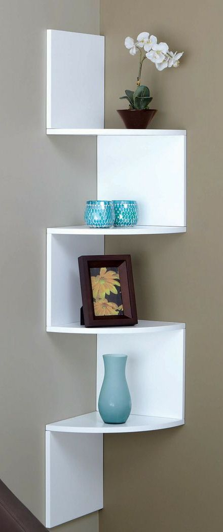 Corner Zig Zag Wall Shelf Home Sweet Home Pinterest Corner