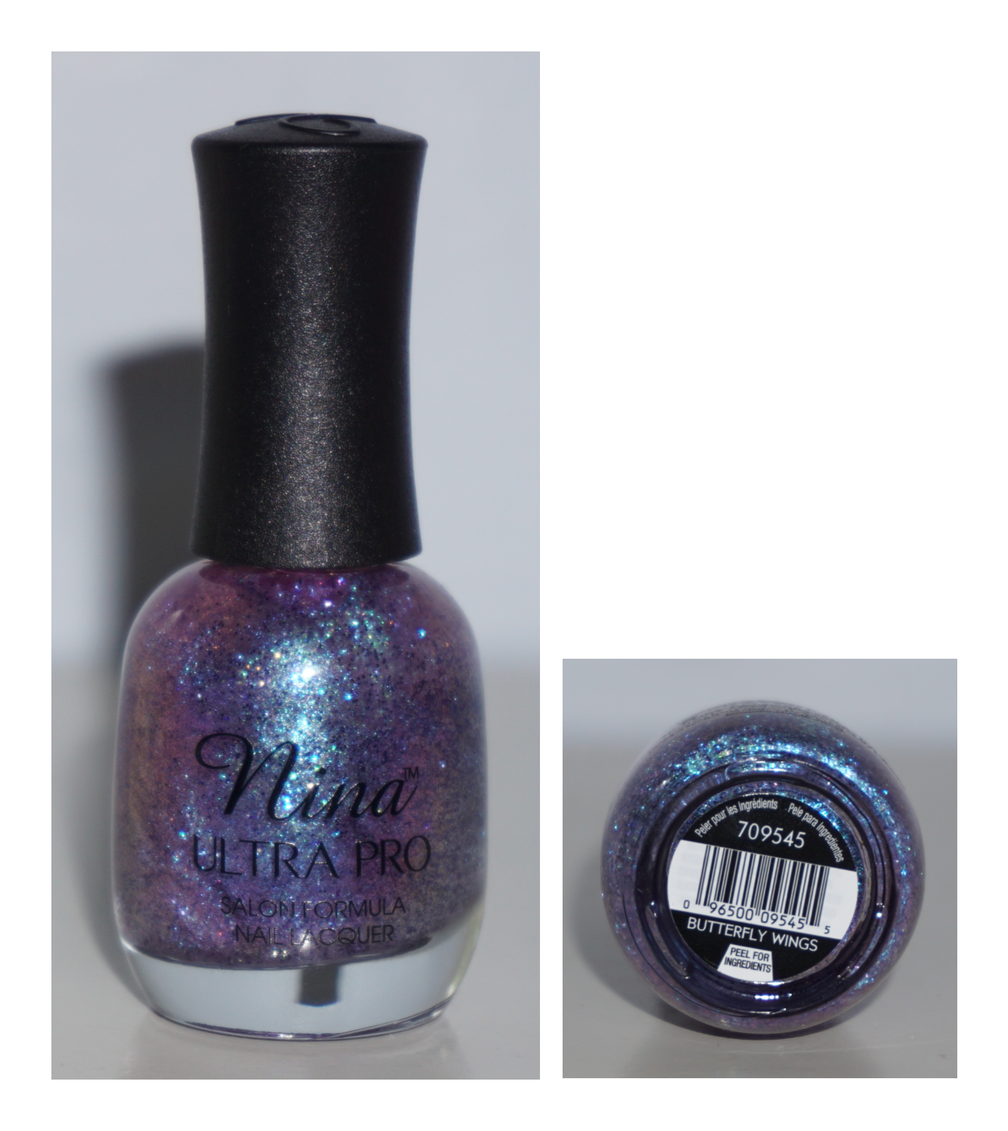 Nina Ultra Pro Butterfly Wings Iridescent Duochrome Purple Blue ...