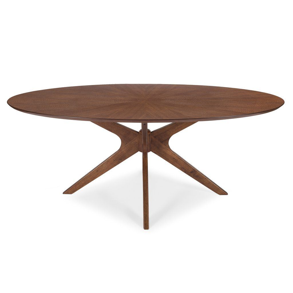 Azur Oval Dining Table In 2020 Oval Table Dining