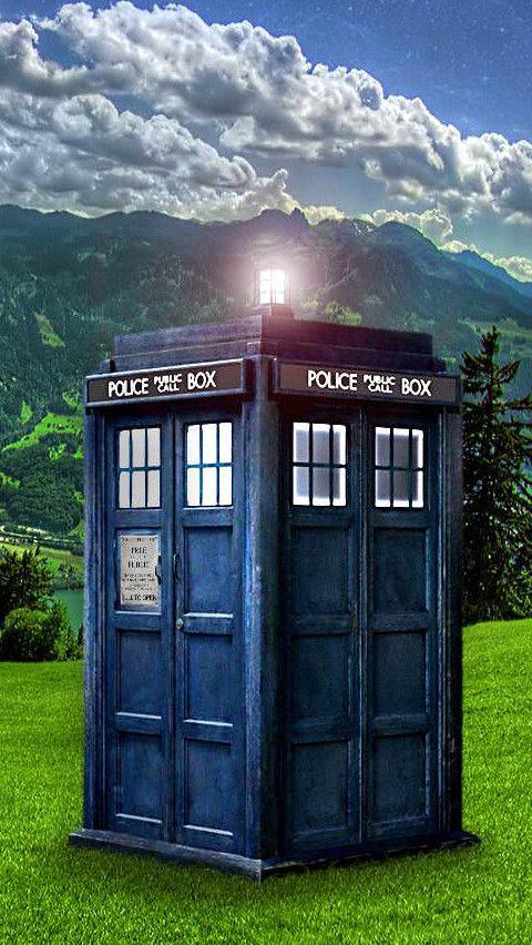 Doctor Who iPhone 5 Wallpaper Tardis wallpaper, Doctor