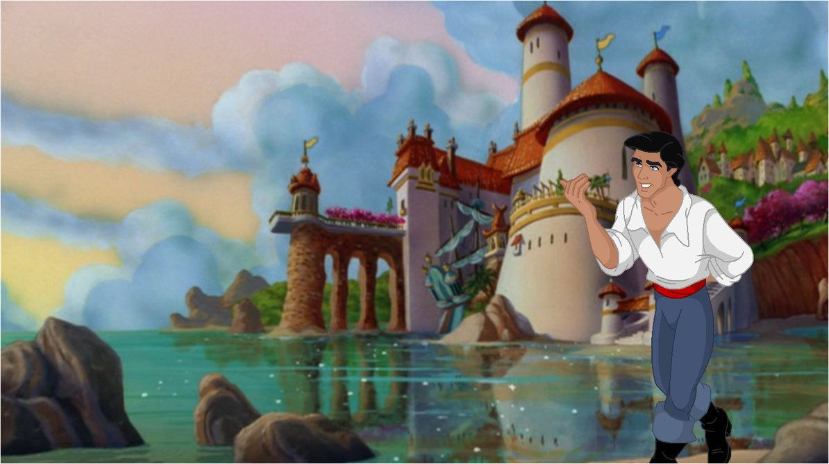 Prince Eric and his castle