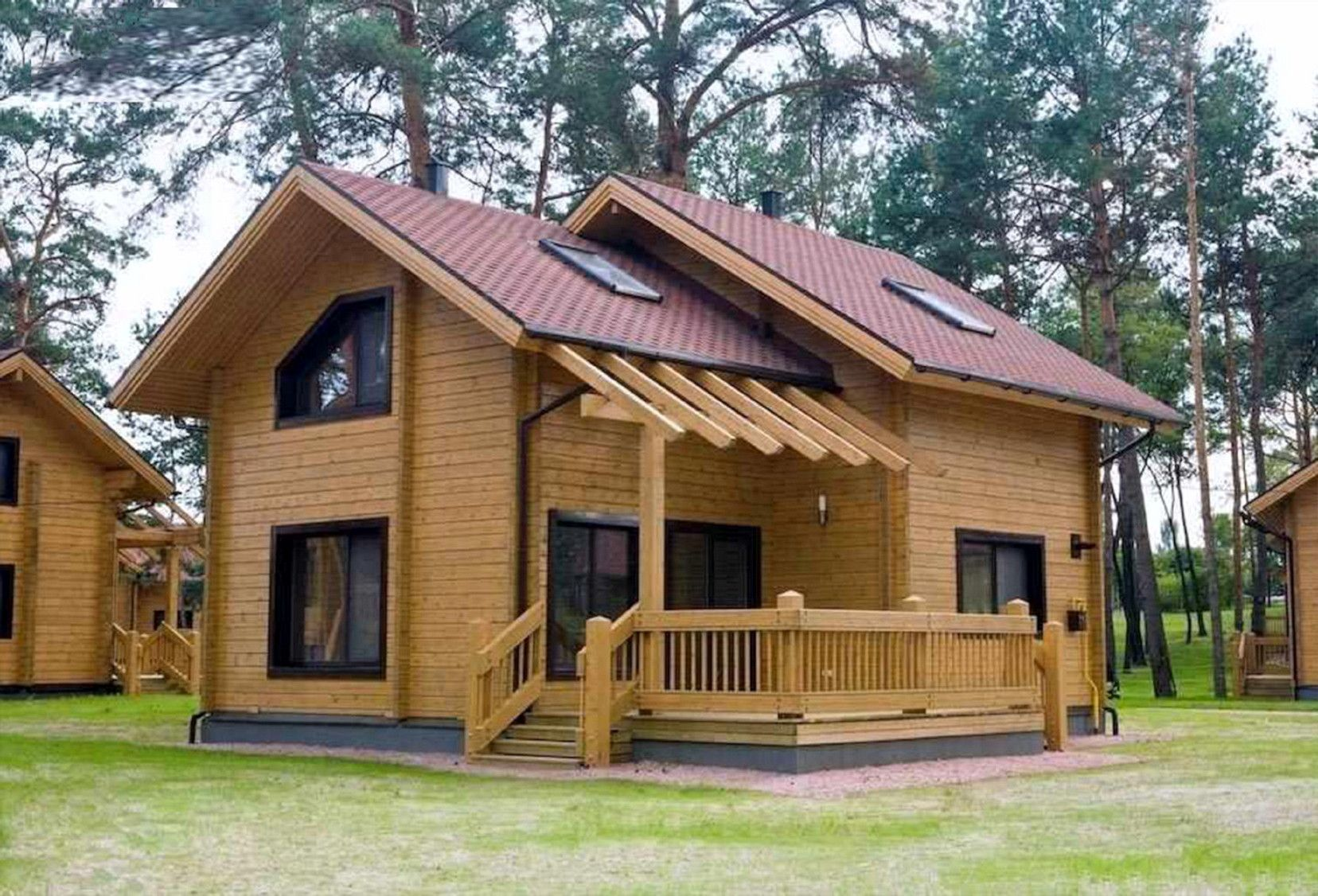 20 Awesome Wood Villa Design Ideas Wooden House Design House