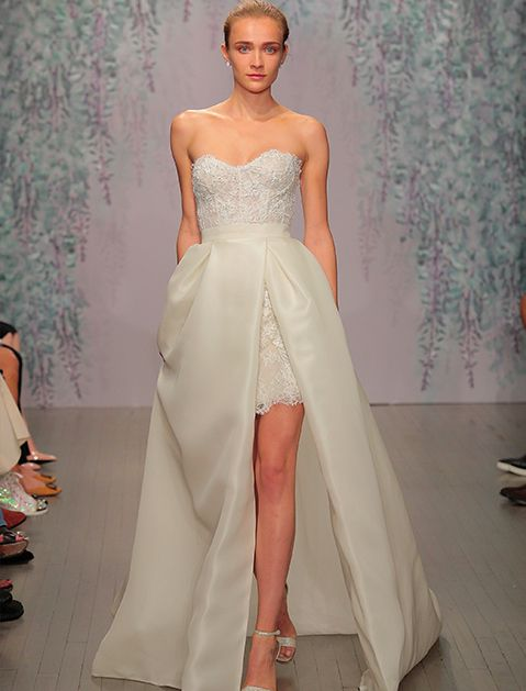 13 Bridal Gown Trends That Aren't Strapless (#SorryNotSorry) via @PureWow