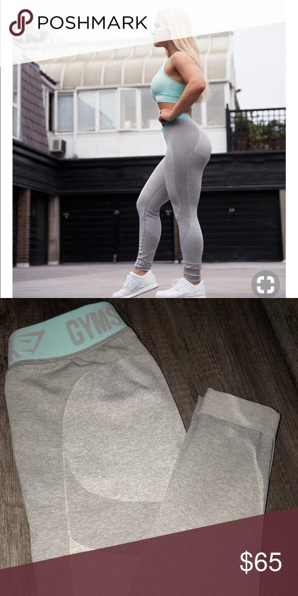 b913a7de994 Learn These Gymshark Flex Leggings Light Grey Marl  Swypeout