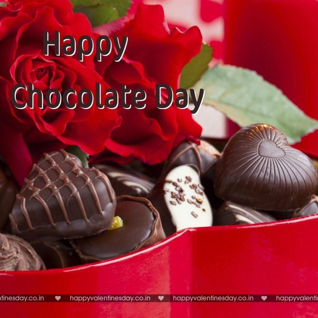 Pin On Happy Chocolate Day Images Happy chocolate day pic for friends