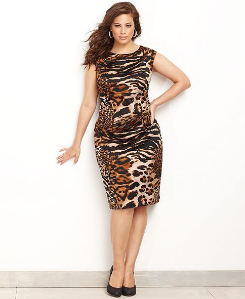 e7a0a32db4a INC International Concepts Plus Size Dress