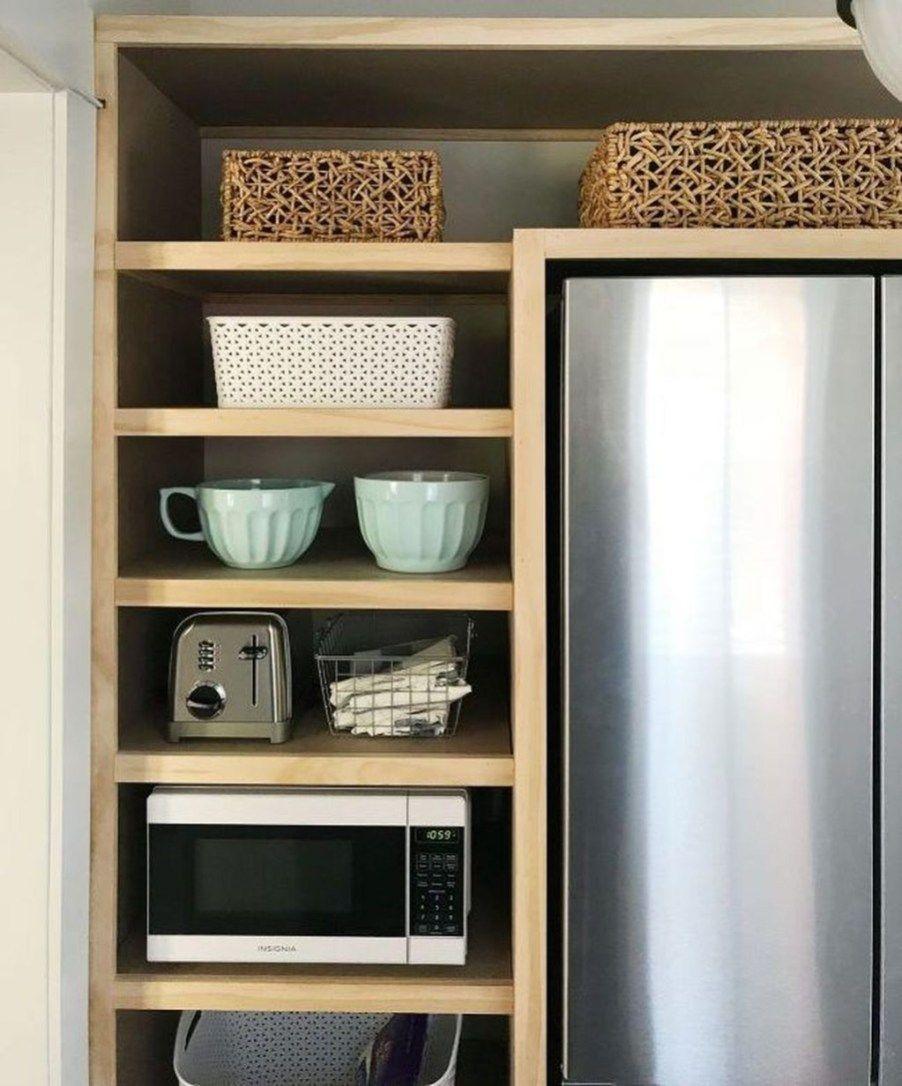 47 Astonishing Built Kitchen Pantry Design Ideas #largepantryideas