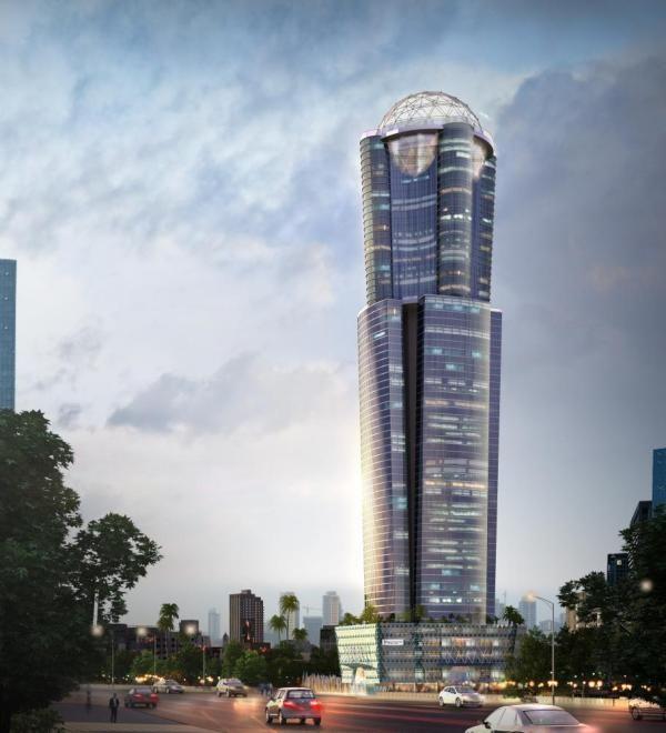 96 Iconic Tower in Colombo Sri Lanka by Architect Reza Kabul ArchShowcase