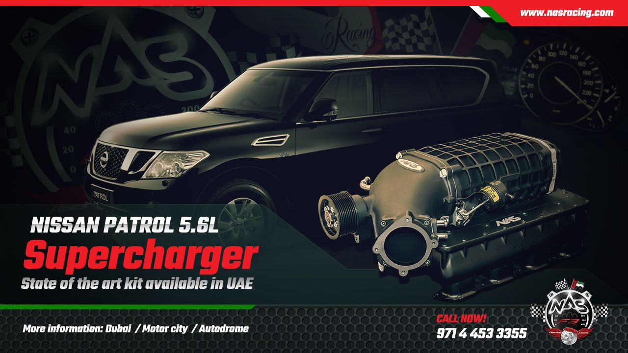 2020 Nissan Patrol Royale, Ute, Y62 >> Nissan Patrol 5 6l Supercharger Kit In Dubai Only At Nas Racing