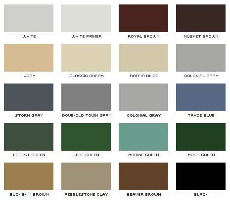 Best Rain Gutter Color Chart Ernies Roofing And Siding Beach 400 x 300
