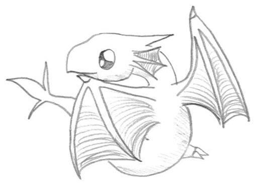 Line Art Dragon : Chibi dragon by silverdragon on deviantart absolutely
