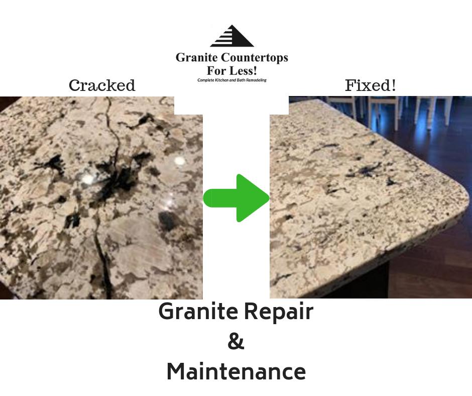 Fix Cracked Granite Call Granite Countertops For Less Granite