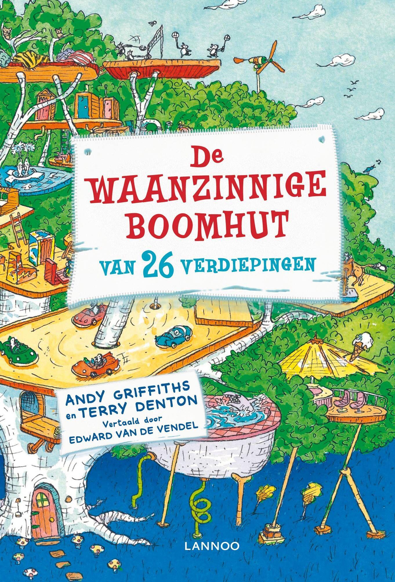 De Waanzinnige Boomhut Van 26 Verdiepingen Boomhut Verdieping Lezen