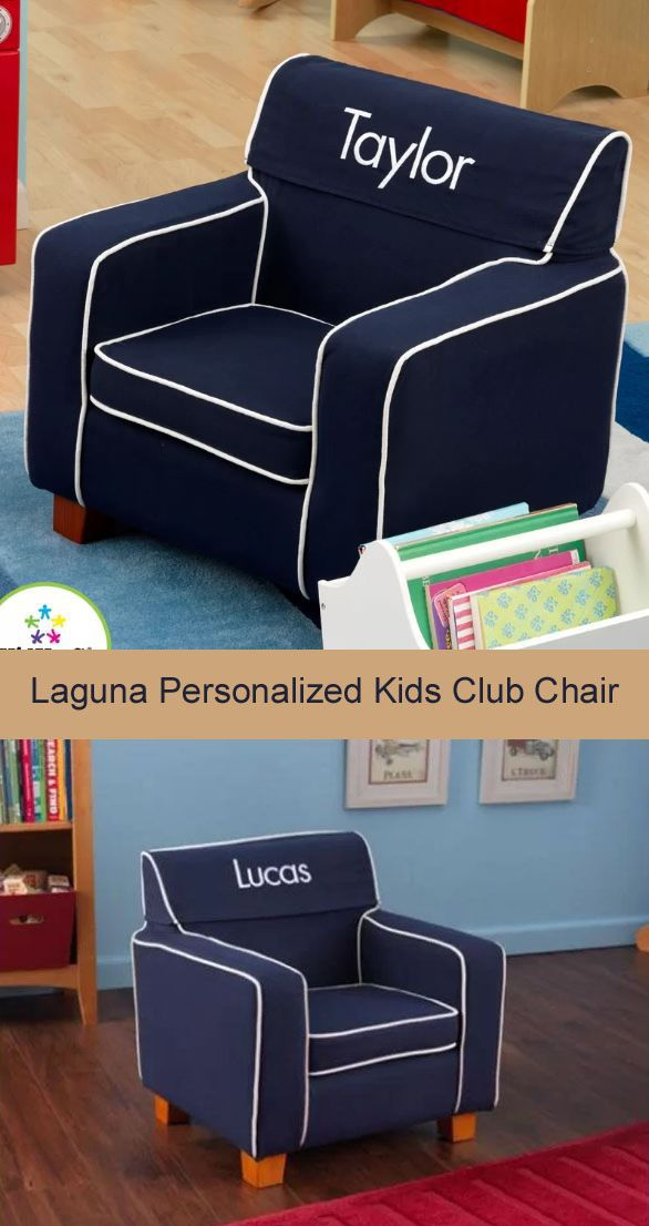 Charmant Kids Would Love Having Their Names On Their Chairs. KidKraft Laguna  Personalized Kids Club Chair