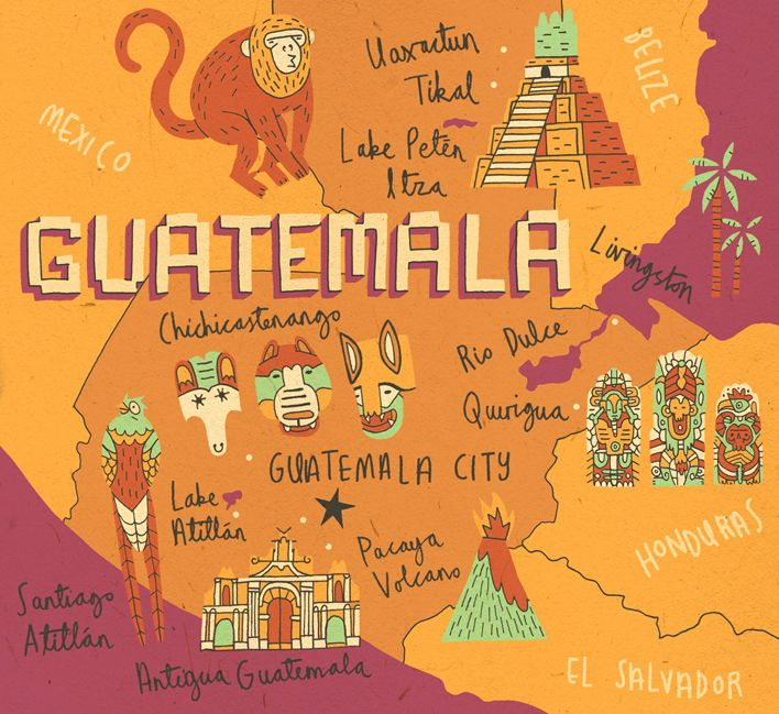 Places To Visit In Us During February: Mapped Out Guatemala