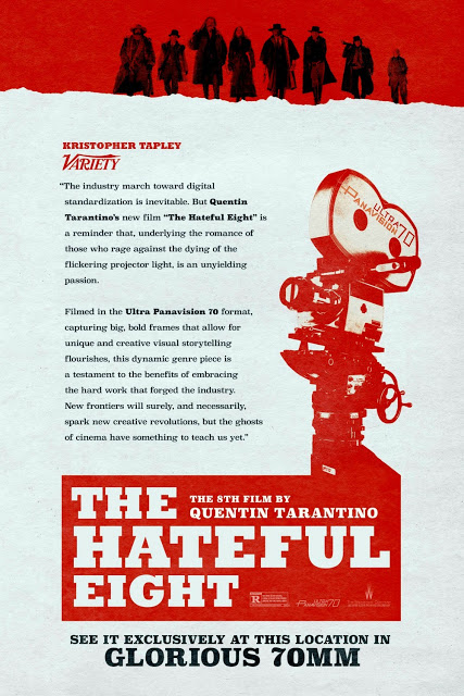 The Hateful Eight Pelicula 02 Poster A3 Los Odiosos Ocho Quentin Tarantino